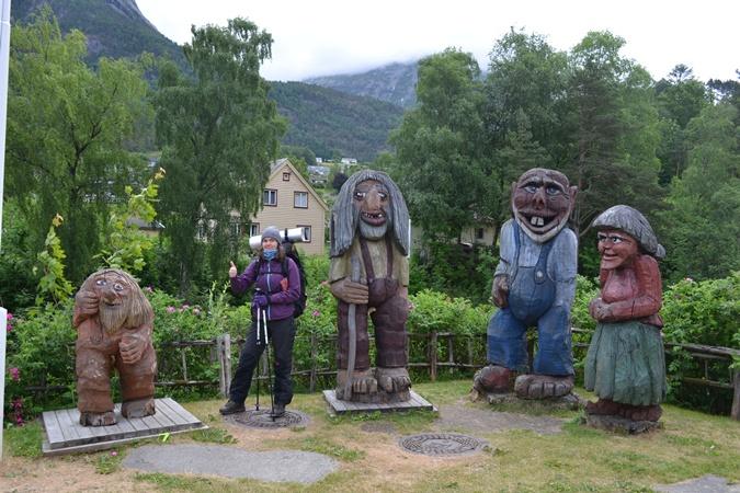 В Норвегии без троллей никуда. Но сувениры