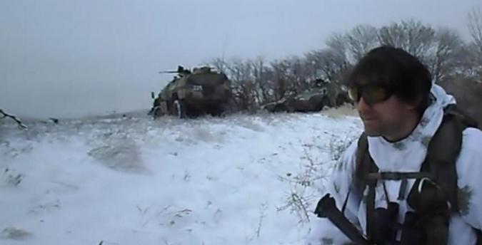 Опубликовано видео, показывающее участие боевиков