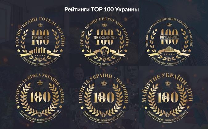 рейтинги ТОП-100, отзывы