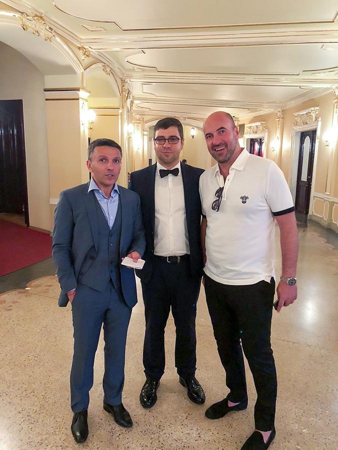 Богдан Терзи, известный маркетолог, бизнесмен на закрытии кинофестиваль Одесса