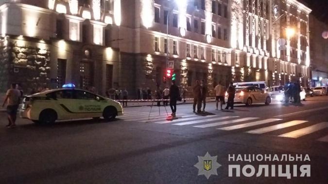 В результате перестрелки погибли полицейский и стрелявший. Фото: Нацполиция Украины.