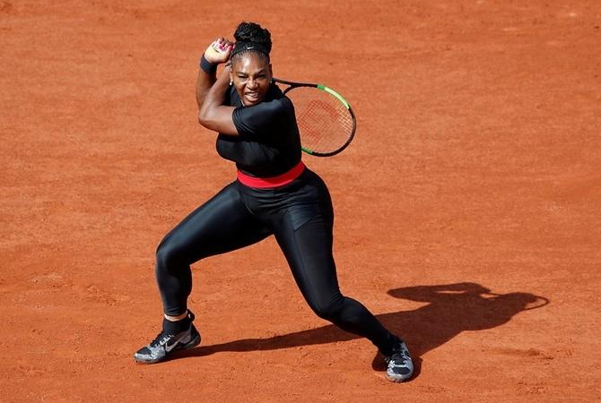 В мае 2018 года Серена выступила на Roland Garros в костюме кошки. Фото: REUTERS