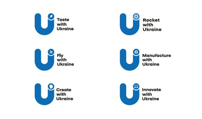 Слоганом экспортного бренда стала фраза Trade with Ukraine, которая будет трансформироваться в зависимости от отрасли.