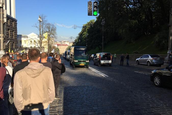 """Это не первый протест """"евробляхеров"""" в этом году."""
