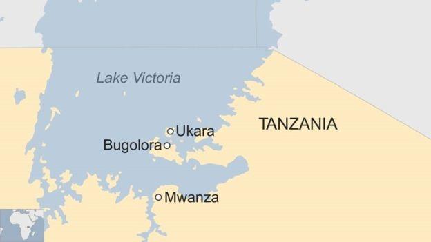 Географическое расположение озера Виктория