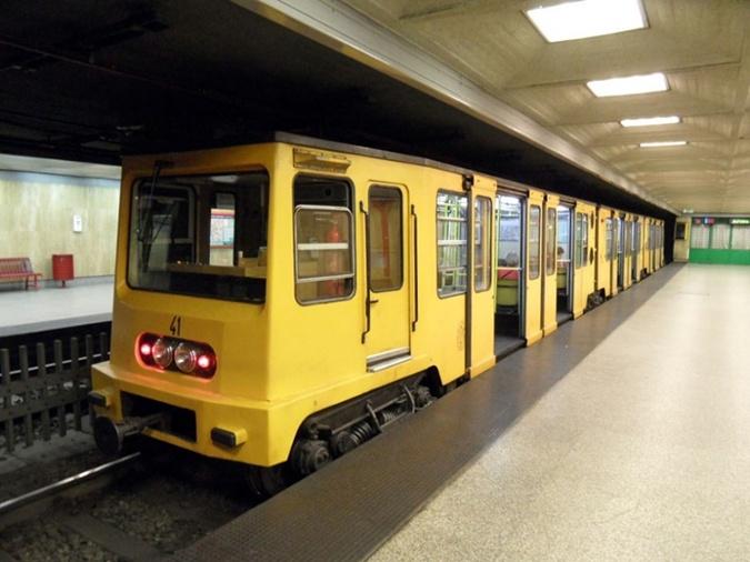 Первое в Европе метро