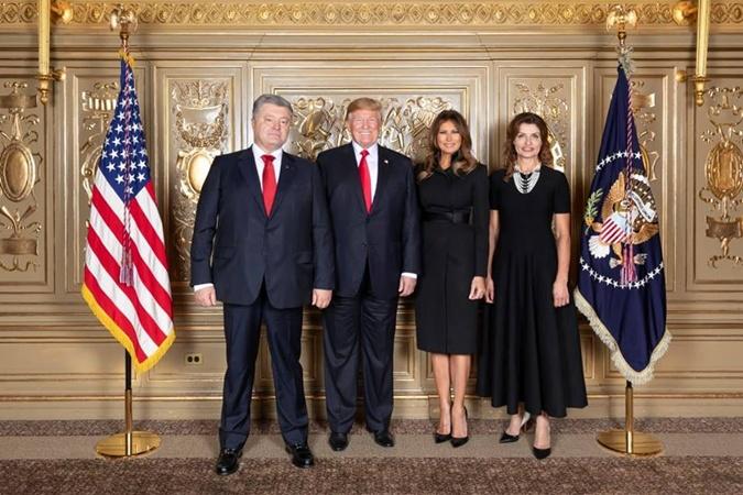 Зеленський з дружиною побували на офіційному прийомі у Трампа - Цензор.НЕТ 8912