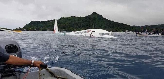 В Микронезии пассажирский