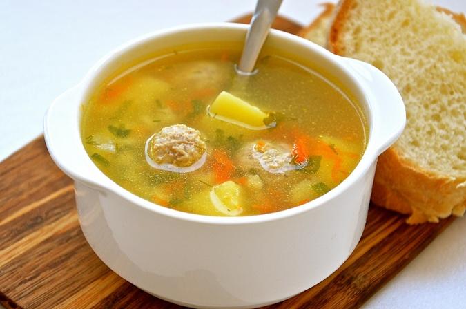 Овощной суп с фрикадельками рецепт