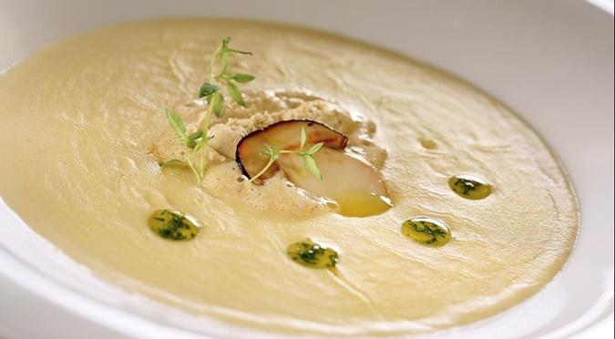 Крем-суп из грибов рецепт