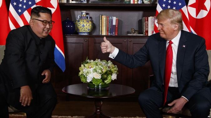 Ким Чен Ыну и Дональду Трампу пророчили победу.
