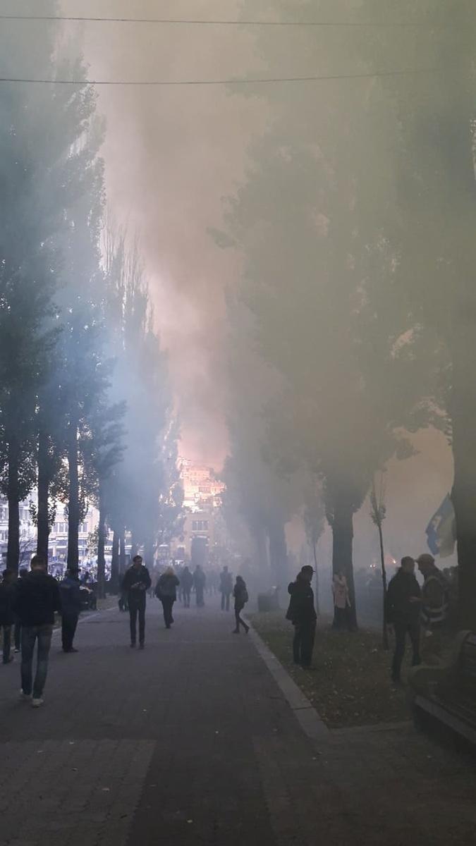 Марш УПА: От забросанного яйцами Ватутина до погрома офиса Медведчука фото 2