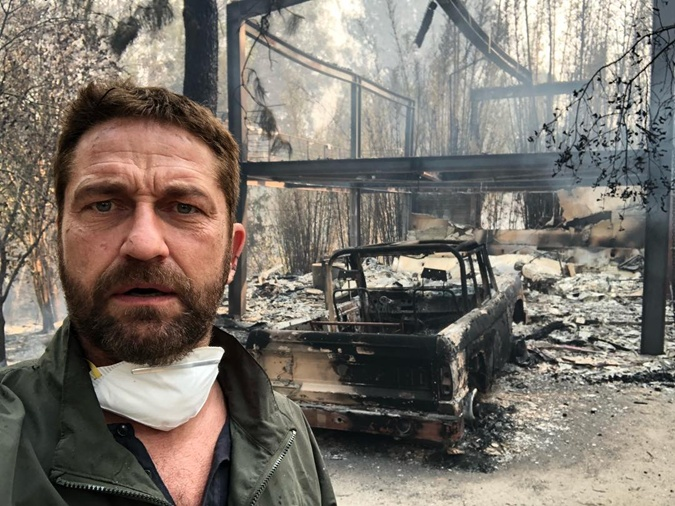 Голливудские пожары звездных домов: сгорели полмиллиарда долларов фото 2