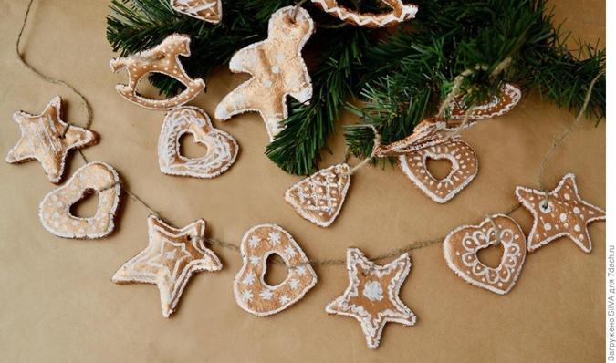Из шишек, лампочек и соленого теста: 5 идей для новогодних украшений своими руками фото 1