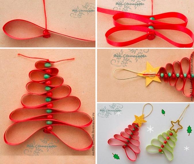 Из шишек, лампочек и соленого теста: 5 идей для новогодних украшений своими руками фото 13