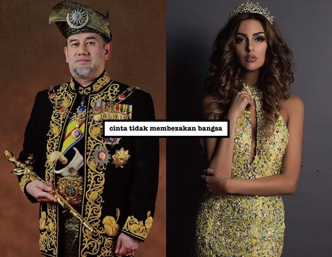 Король Малайзии женился на