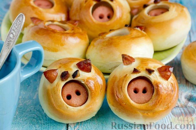 Пошаговые рецепты на Новый год Свиньи фото 5