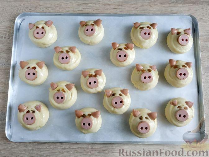 Пошаговые рецепты на Новый год Свиньи фото 4