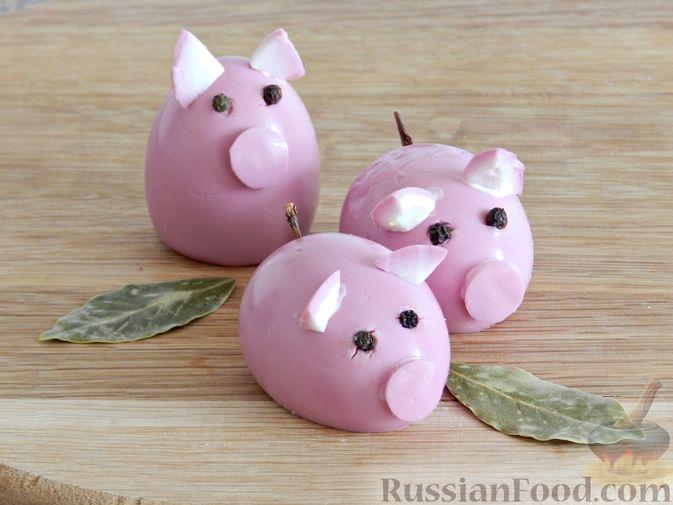 Пошаговые рецепты на Новый год Свиньи фото 9