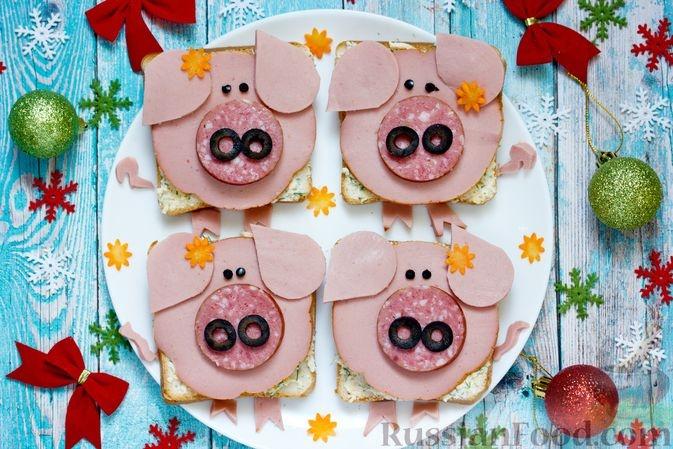 Пошаговые рецепты на Новый год Свиньи фото 18
