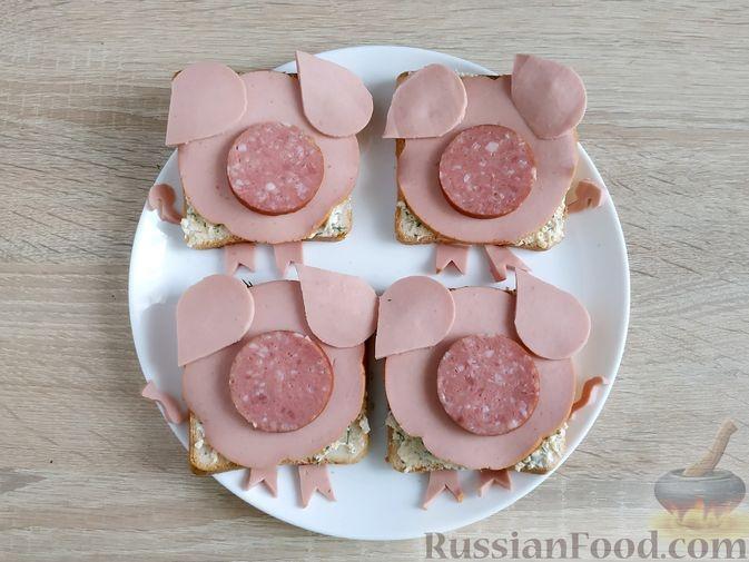 Пошаговые рецепты на Новый год Свиньи фото 17