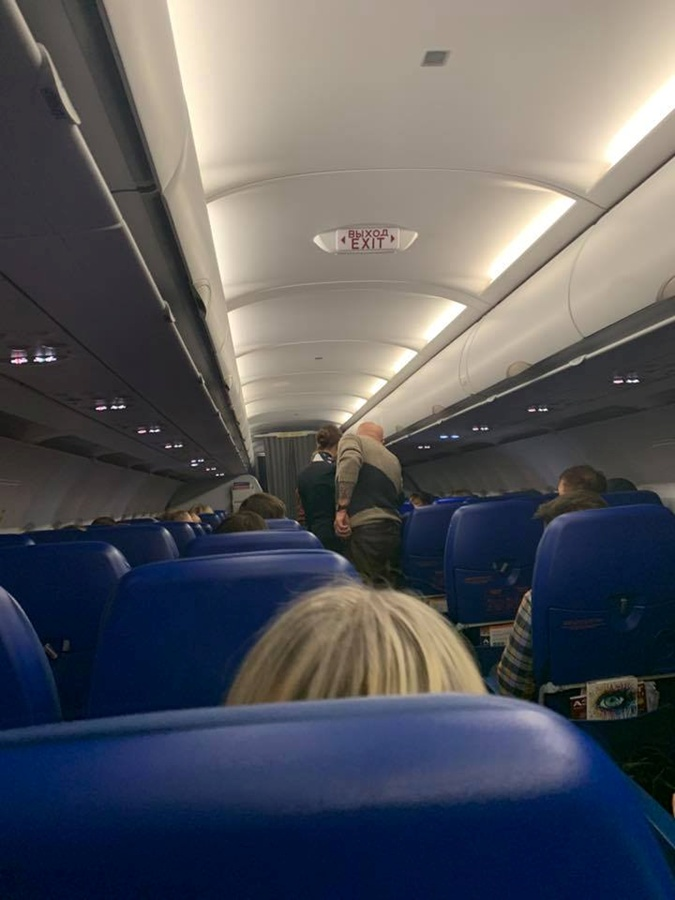 Александр Розенбаум спас жизнь пассажирке самолета фото 2