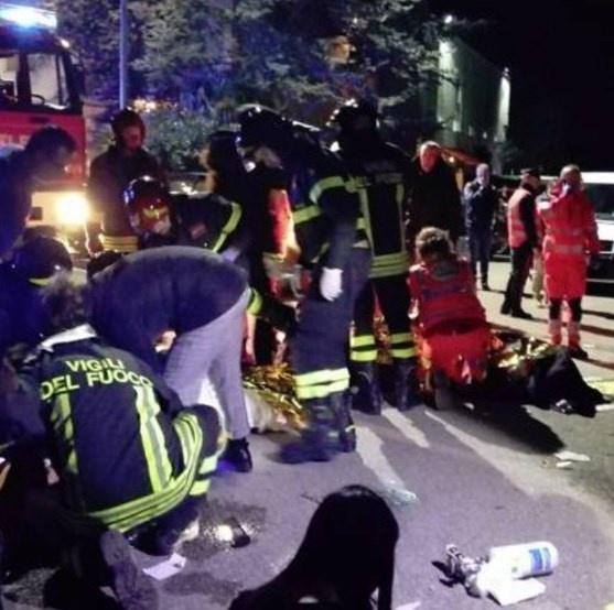 Все подробности смертельной давки в ночном клубе Италии  фото 1