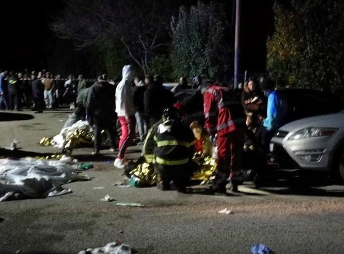 Все подробности смертельной давки в ночном клубе Италии  фото 2