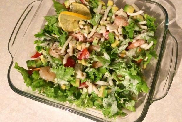 Салат гордон рамзи со стручковой фасолью и миндальными лепестками — pic 4