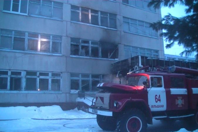 В Харьковской области сгорели два этажа санатория фото 2