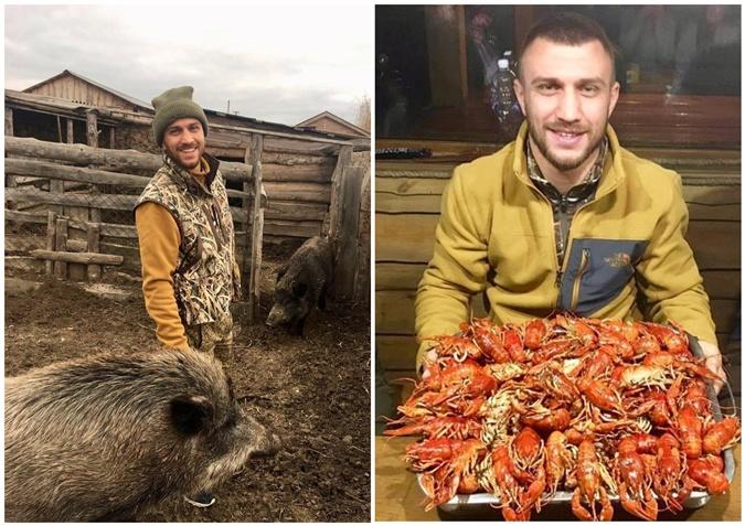 В ожидании соперников: Усик уехал в Лапландию, а Ломаченко объедается раками фото 2