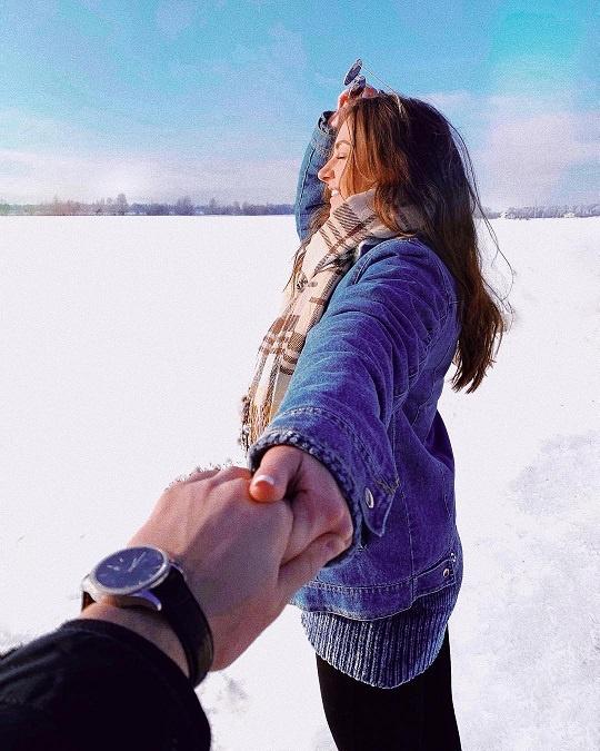 Алена Лесык пока не хочет показывать своего избранника. Фото: Инстаграм