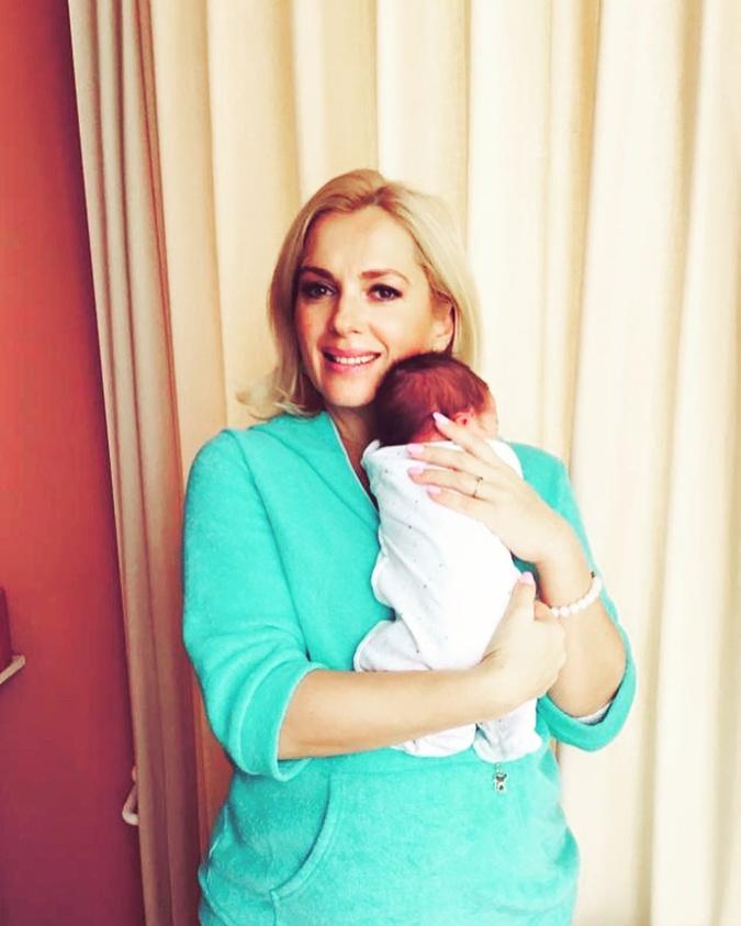 Мария Порошина показала новорожденного сына фото 1