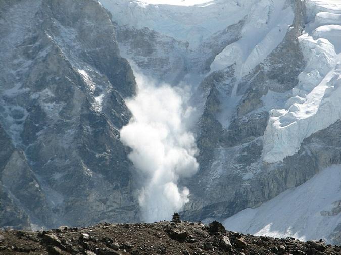 Схождение лавин в горах Фото: pixabay.com