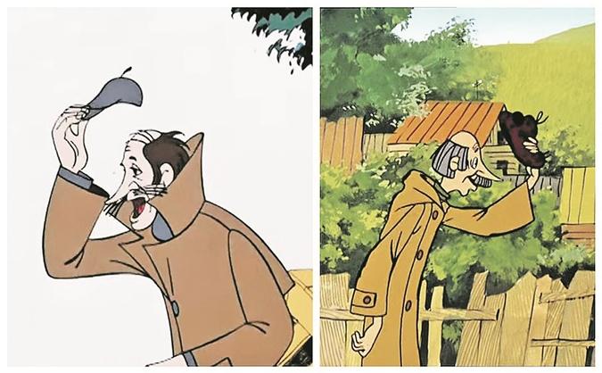 Санта-барбара в советских мультфильмах: Малыш из