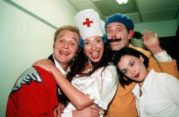 Эвелина Бледанс впервые появилась  на телевидении именно в сериале