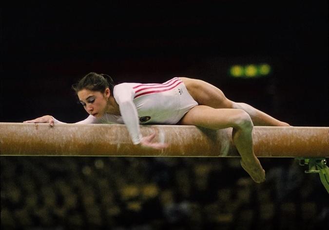 Из-за травм Ольга Стражева завершила карьеру в 17 лет. Фото : архив