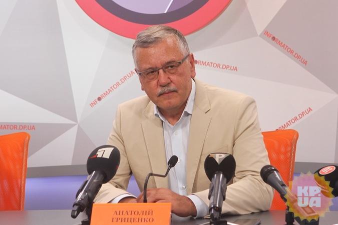 Анатолий Гриценко.