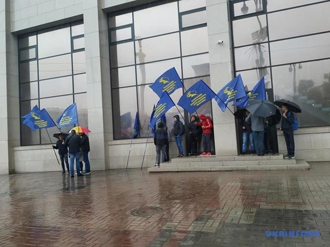 Первомайский митинг вКиеве собрал всего 200 человек