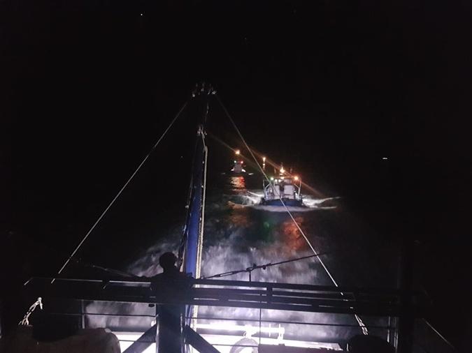 Украинские пограничники задержали под Одессой три турецких судна фото 1