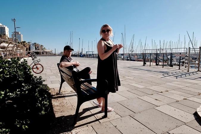 Как Данилко с Инной Белоконь отдыхают в Тель-Авиве фото 1