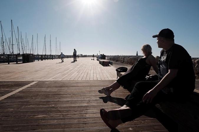 Как Данилко с Инной Белоконь отдыхают в Тель-Авиве фото 2