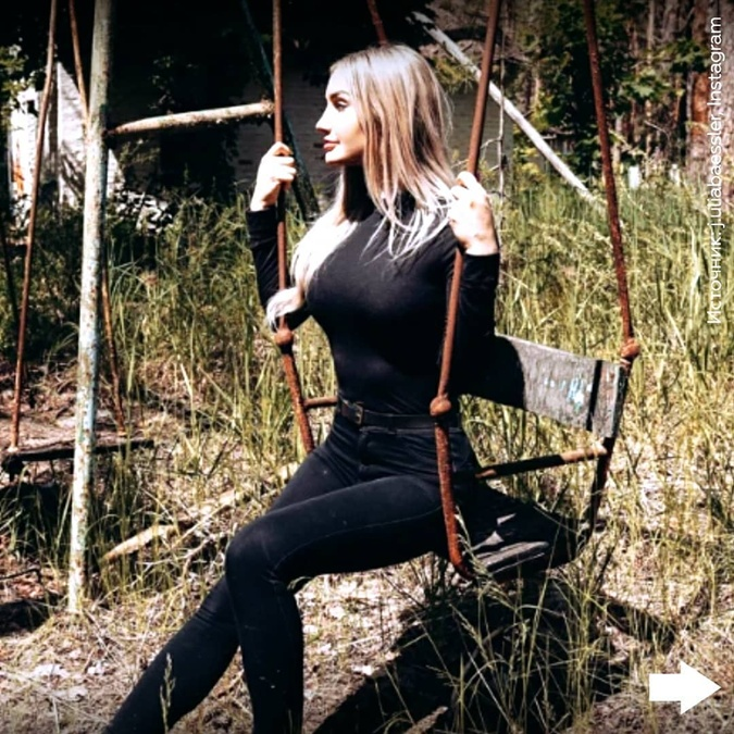 """Учительница, которая сфотографировалась в Припяти без белья: """"У меня не было никакой задумки"""" фото 1"""