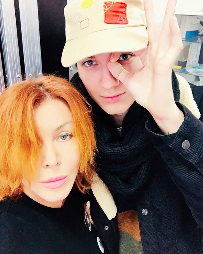 Ирина Билык с сыном Глебом. Фото: Инстаграм