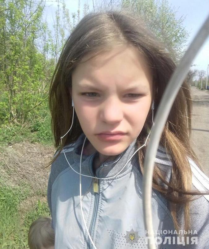 В Днепропетровской области нашли убитой пропавшую 13-летнюю Инну Дубик фото 1