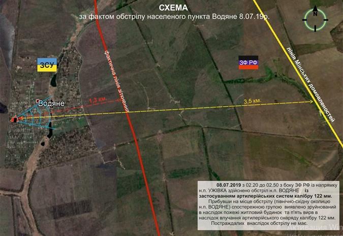 В Донбассе обстреляли Водяное и Екатериновку фото 5