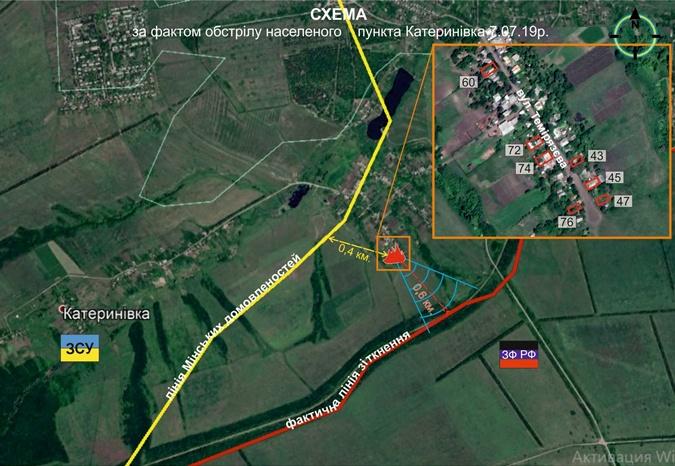 В Донбассе обстреляли Водяное и Екатериновку фото 3