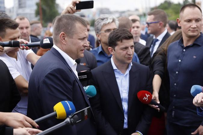 Владимир Зеленский и Борис Филатов заключили пари фото 2