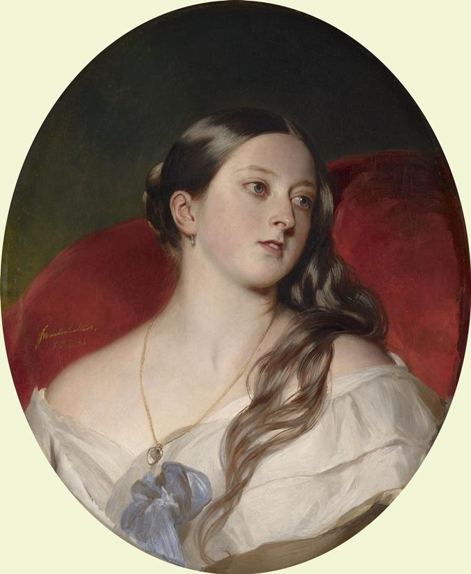 Интимный портрет королевы Виктории (1843), сделанный в подарок мужу, принцу Альберту, в те времена считался вызовом общественной морали. Фото: Википедия.