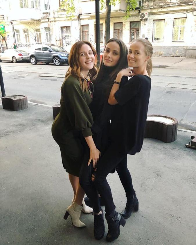 Ксения интригует: в новом сезоне из 24 серий у ее героини и Алексея Косача, которого играет Алексей Яровенко, будет любовь. Но какая? Фото: СТБ